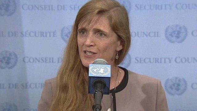 """Émissaire américain à l'ONU, Samantha Power: """"La Russie continue de détenir l'otage Conseil"""""""