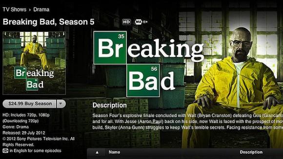 L'achat de la «saison 5» a fait l'objet de beaucoup de frustration par les clients d'Apple.