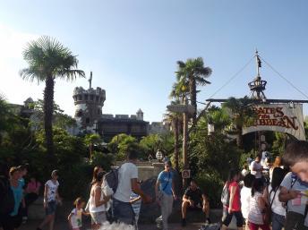 L'entrée de Pirates des Caraïbes à Disneyland Paris