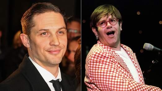 Tom Hardy a été choisi pour représenter la carrière mouvementée d'Elton John