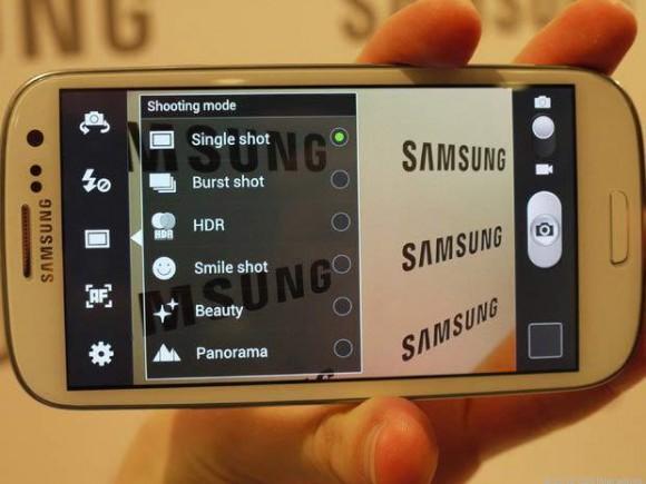Samsung Galaxy S5 : un capteur photo de 16 MP par Sony ou Samsung LSI