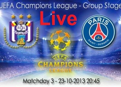 Anderlecht-PSG-Streaming-Live