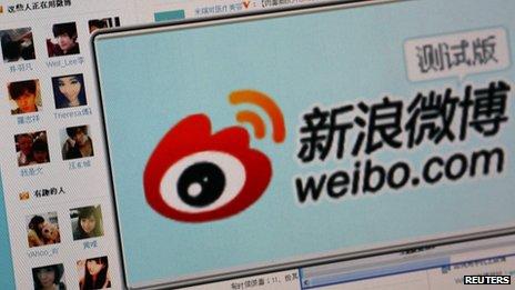 Sina Weibo, lancé en 2010, compte plus de 500 millions d'utilisateurs enregistrés avec 100 millions de messages affichés chaque jour