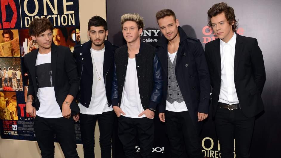 One Direction aurait gagné l'an dernier 59.33m d'euro