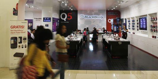 BlackBerry envisageait de licencier environ 4.500 employés, soit environ 40% de ses effectifs
