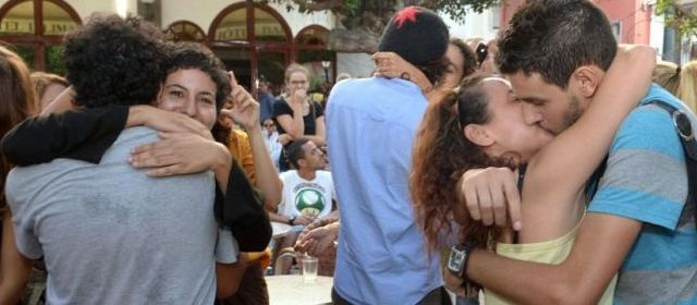 «kiss-in»  au Maroc