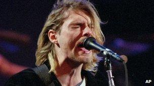 Kurt Cobain de Nirvana s'est suicidé en Avril 1994 à l'âge de 27 ans