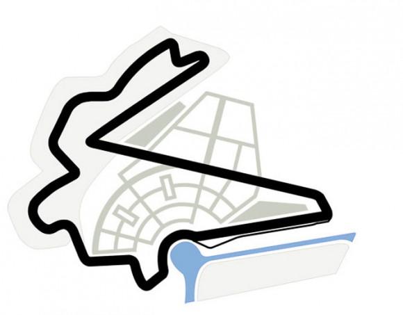 circuit de Korea International, situé à Yeongam, Corée (Sud). 55 tours de 5.615 kms = 308.825 kms