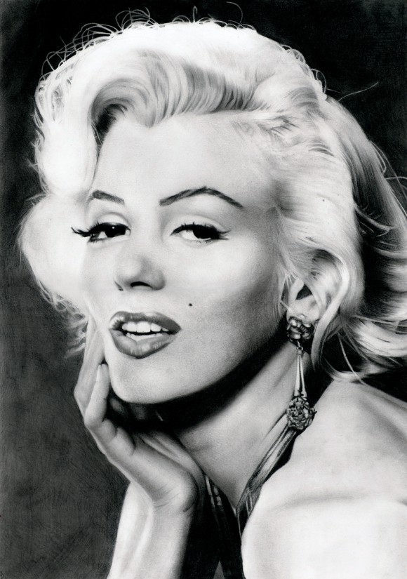 Marilyn_Monroe__s_portrait_by_Stanbos