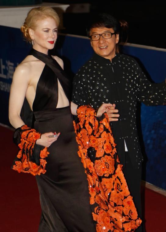 Nicole Kidman a sublimé le tapis rouge à la 10ème cérémonie des China's Huading Awards