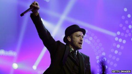 Justin Timberlake est nommé pour cinq MTV Europe Music Awards