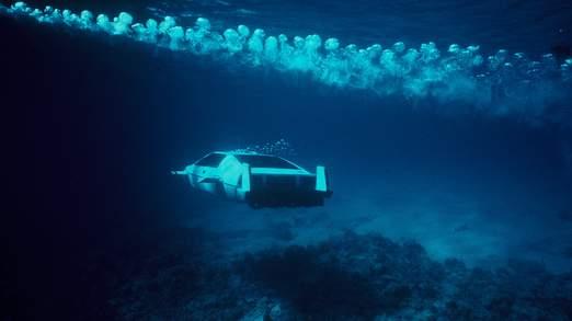 Plusieurs versions du véhicule ont été utilisés dans le film