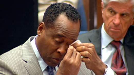 Conrad Murray a été reconnu coupable d'homicide involontaire en 2011
