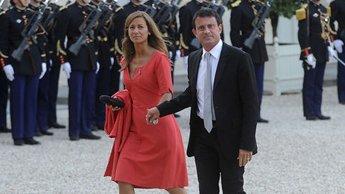 Anne Gravoin,et son mari Manuel Valls