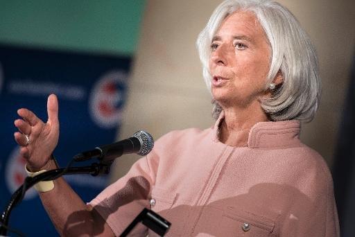 Fonds monétaire international, Christine Lagarde, Directeur Général le 19 Septembre 2013, à Washington, DC