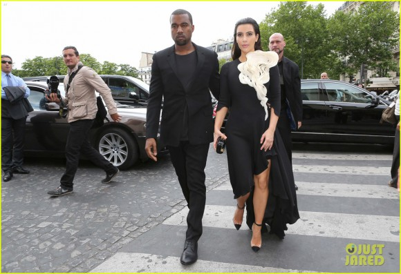 Kim Kardashian & Kanye West Are Fashionable