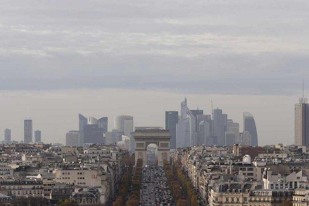 Le quartier d'affaires parisien de la Défense