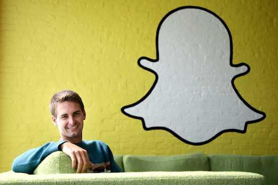 Evan Spiegel, pdg et fondateur de Snapchat, est la personne la plus courtisée de la Silicon Valley