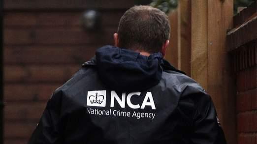 National Crime Agency raids