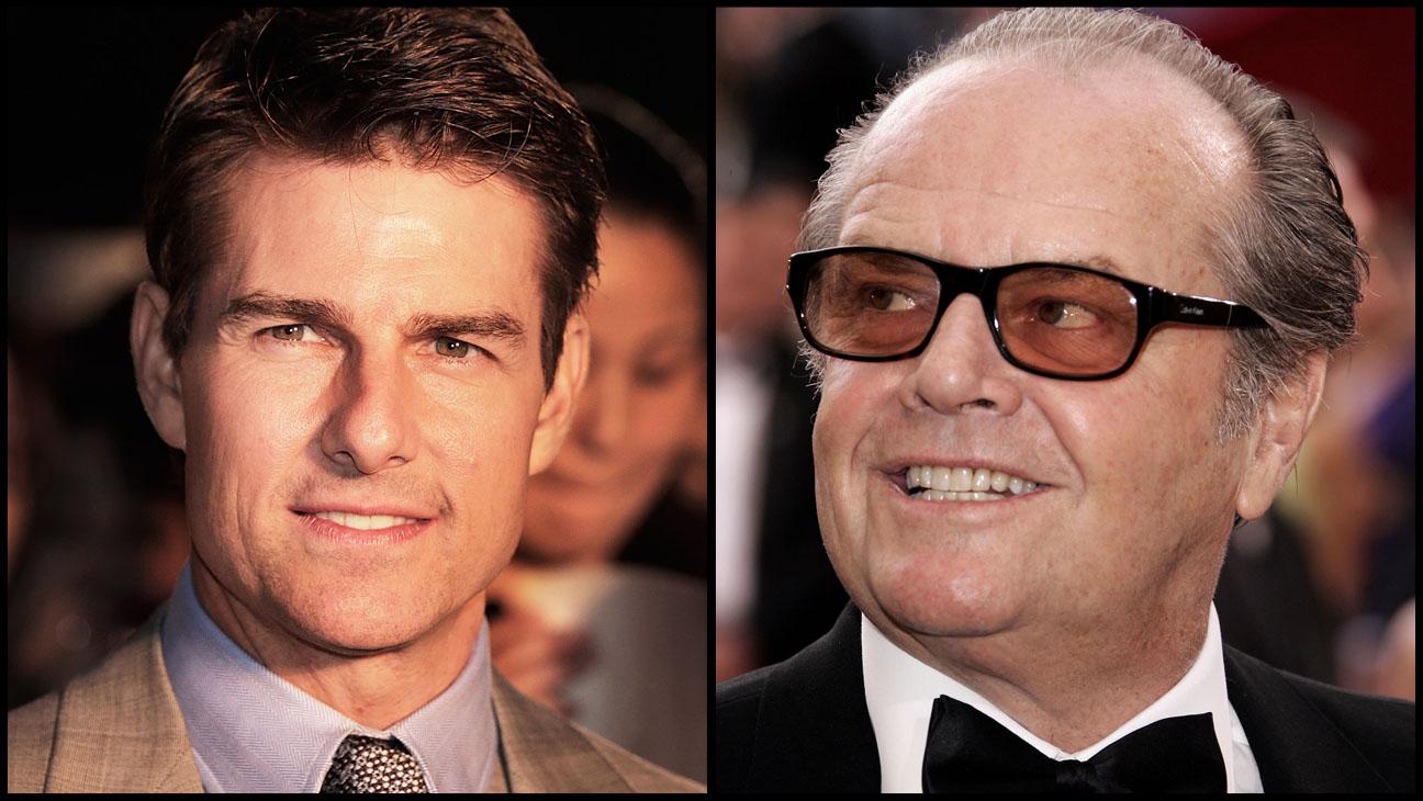 Tom Cruise, à gauche, et Jack Nicholson