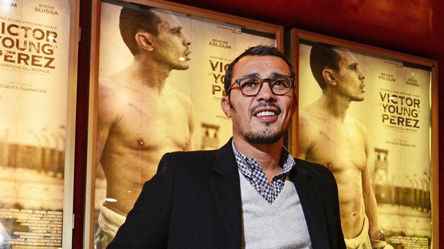 """Brahim Asloum : """"J'ai préparé le rôle de Victor Young Perez comme un championnat"""""""