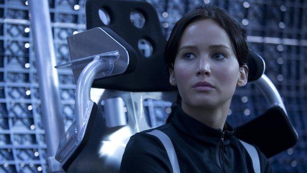 Jennifer Lawrence que Katniss dans Hunger Games - L'embrasement