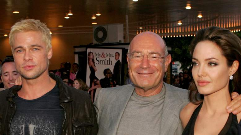 Arnon Milchan contribué à réunir Brad Pitt et Angelina Jolie pour Mr And Mrs Smith