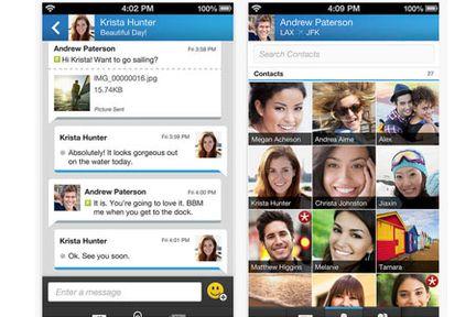 BlackBerry annonce que son service de messagerie BBM sera pré-installé sur les smartphones Android