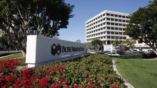 Le siège social de PIMCO à Newport Beach, Californie