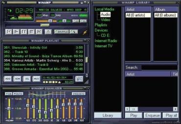 Ce logiciel était à la mode dans les années 2000 lorsque les utilisateurs découvraient le format MP3 et le haut débit avec l'ADSL