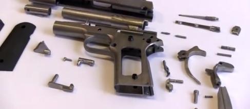 Imprimante 3D : une société a fabriqué le premier pistolet en métal opérationnel