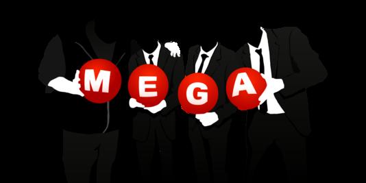 Mega est  la plateforme de stockage de fichiers dans le cloud fondée par Kim DotCom
