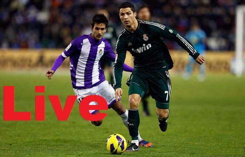 Real Madrid-Valladolid-Streaming-Live