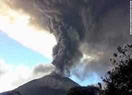Salvador: éruption du volcan Chaparrastique