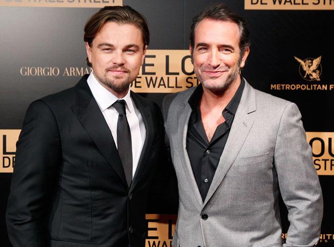 Leonardo DiCaprio et Jean Dujardin, un duo complice à Paris