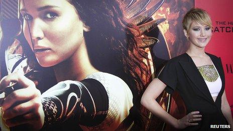 Jennifer Lawrence reprend son rôle de l'héroïne Katniss Everdeen