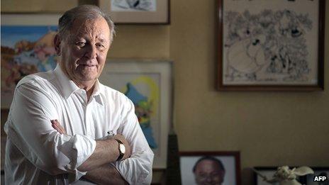 Albert Uderzo a créé Astérix en 1959 avec son partenaire d'écriture René Goscinny