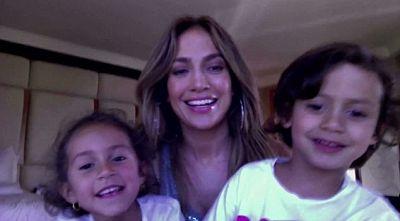 J.Lo en famille pour Noël