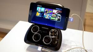 La nouvelle manette Galaxy game pad de samsung