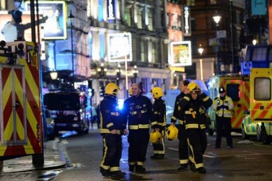 Londres: effondrement Apollo theater, 76 bléssés