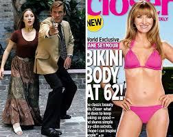 Le corps de rêve de Jane Seymour (62ans)