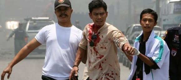 Thaïlande: les secours recensent 22 blessés dans l'explosion à Baongkok