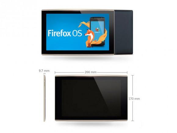 InFocus New tab F1: la tablette de Mozilla
