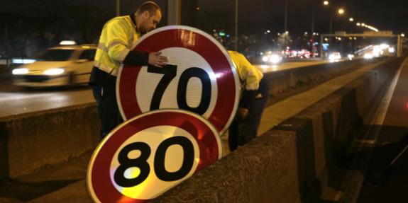 la mesure limitant la vitesse sur le périphérique parisien prendra effet demain