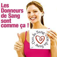 l'appel aux dons lancé par l'établissement français du sang
