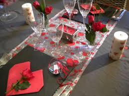 l'idée du dîner romantique pour la Saint-Valentin