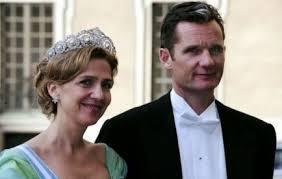 L'infante Cristina et son mari