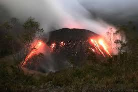 éruption du volcan Kelud