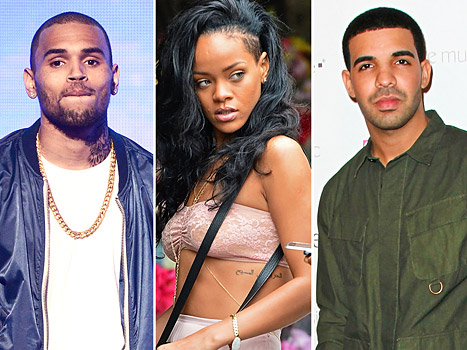 Chris Rihanna et Drake
