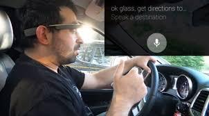 Google glass sont interdits au volant